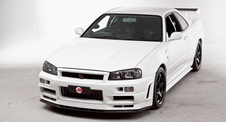 Nissan R34 GTR VSpec II Nr RTune Is A JDM Special