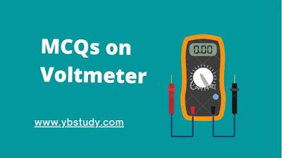 MCQs on voltmeter