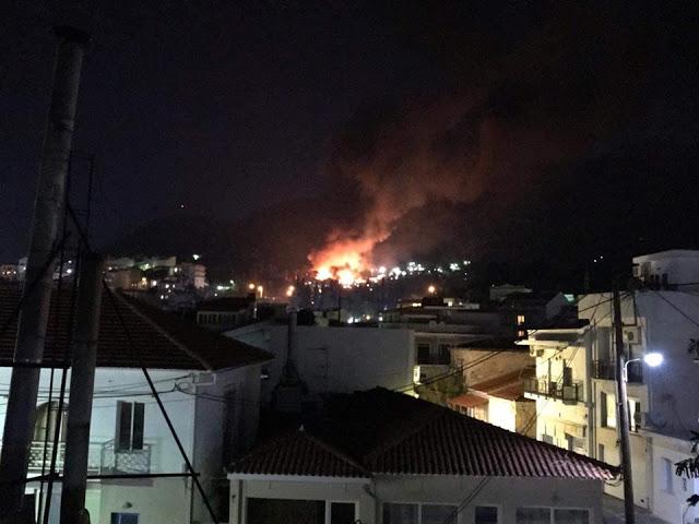 Σάμος: Εκρήξεις και πυροβολισμοί στο hot spot