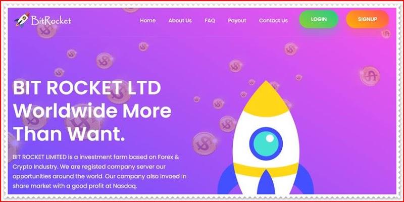 Мошеннический сайт bit-rocket.com – Отзывы, развод, платит или лохотрон? Мошенники