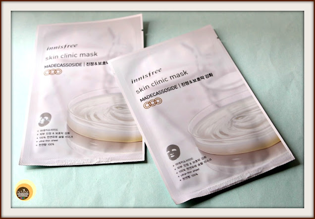 REVIEW OF INNISFREE SKIN CLINIC MASK MADECASSOSIDE On Natural Beauty And Makeup