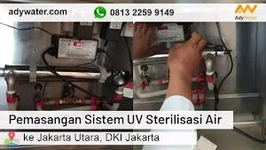 Pemasangan Lampu UV di Jakarta Utara 2020   Ady Water jual lampu UV sterilisasi air