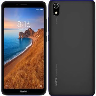 Redmi 7A 2GB RAM, 16GB Internal Storage Front and back Look