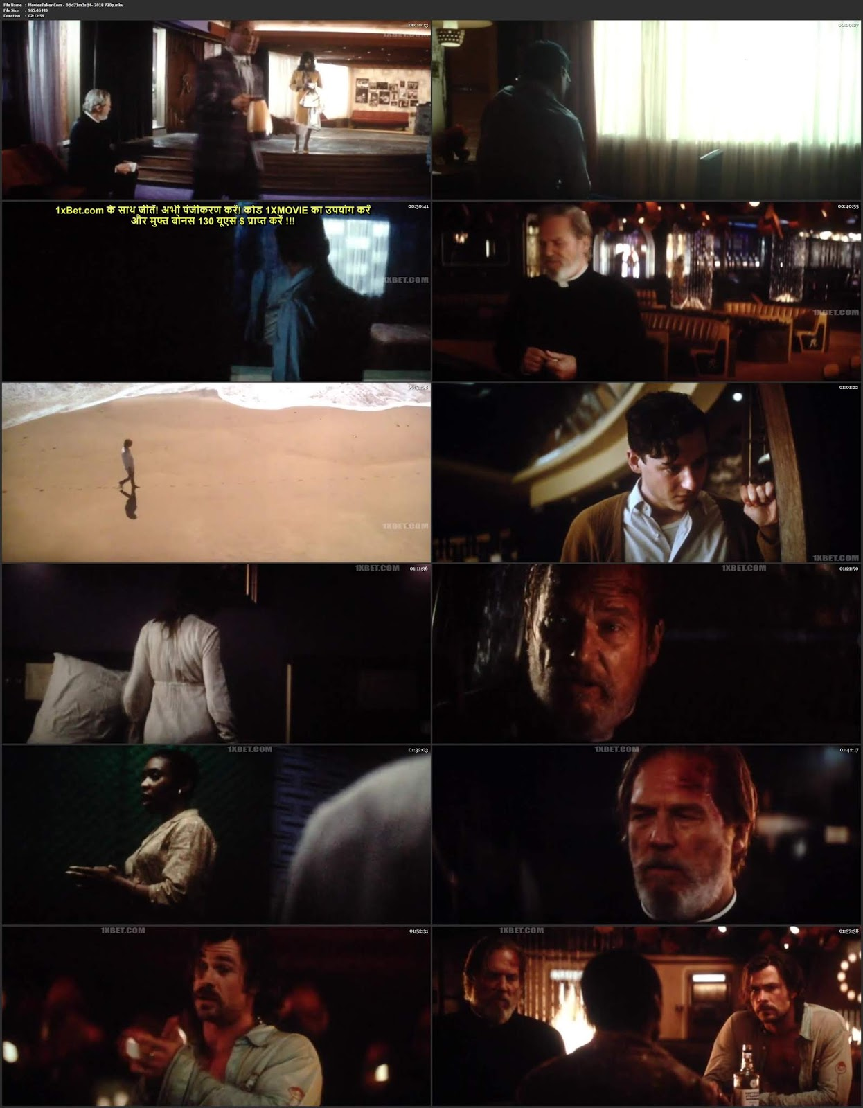 Bad Times at the El Royale 2018 English HDCAM x264 720p