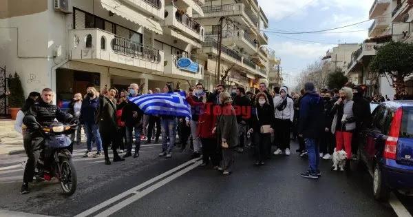 Με «Μακεδονία Ξακουστή» η νέα μεγάλη συγκέντρωση στον Εύοσμο κατά του lockdown και της δομής παράνομων μεταναστών