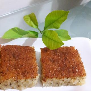 revani, chia tohumu ile yapılan tatlılar