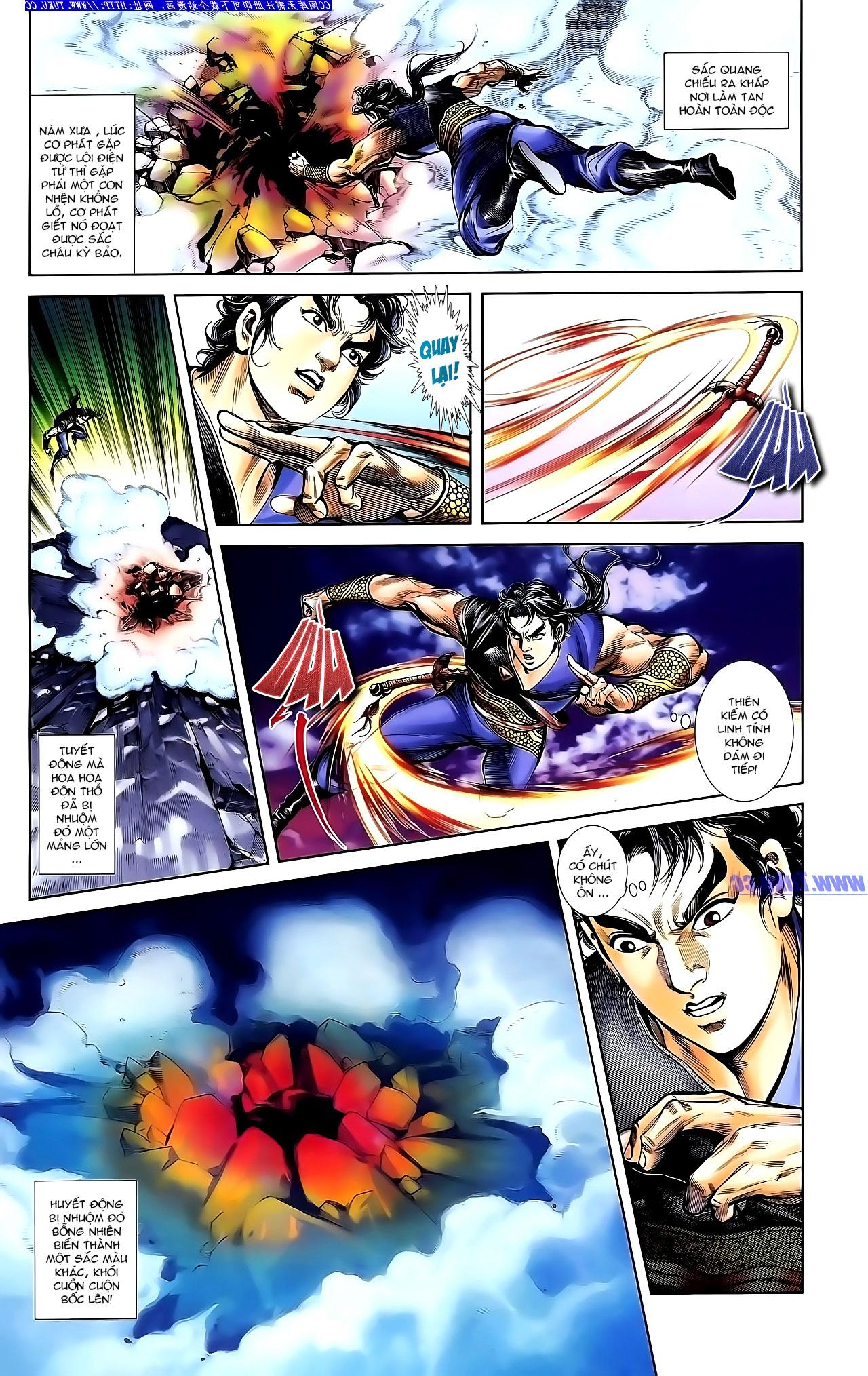 Cơ Phát Khai Chu Bản chapter 143 trang 14