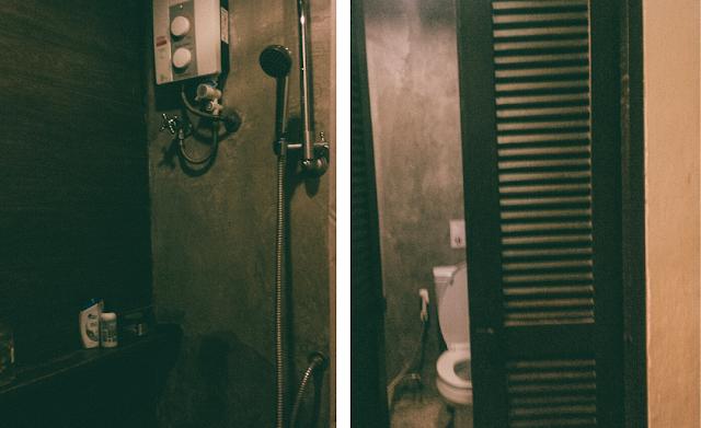 kamar mandi di chao hostel