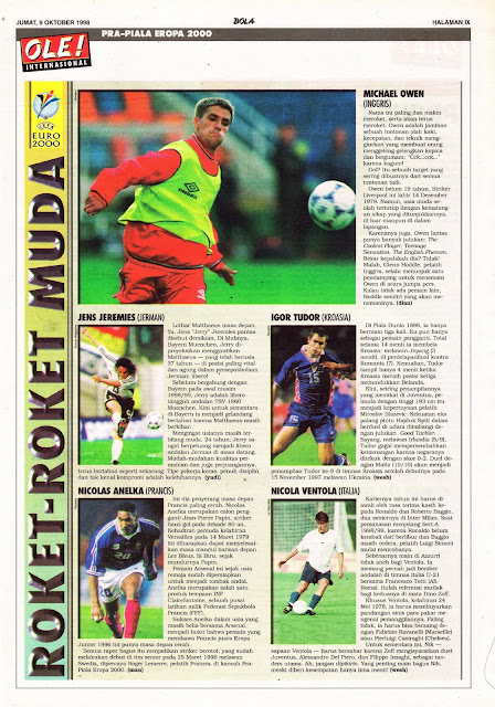 EURO 2000 THE RISING STAR CANDIDATE