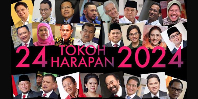 24 Tokoh Harapan 2024, Pengamat: Pilih Yang Tidak Terjerat Oligarki