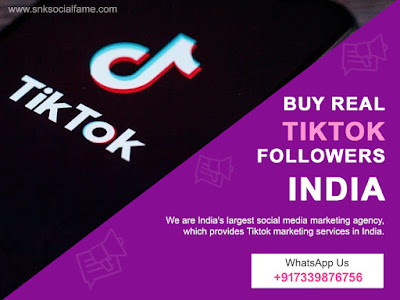 how to buy real tiktok followers india