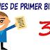 Examen 2016-2017: Primer Bimestre-Tercer Grado