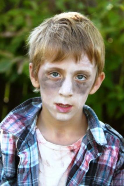 El maquillaje de zombies