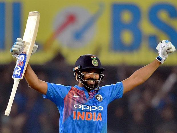 Rohit Sharma 35-Ball Joint Fastest T20I Hundred Highlights