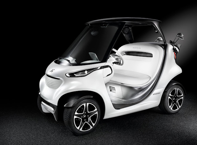 benz golf cart