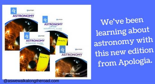 Apologia astronomy curriculum