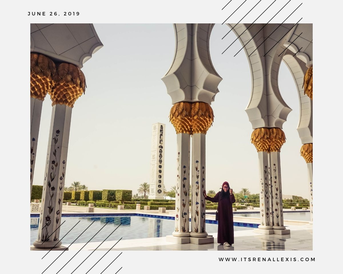 Renee Alexis - Sheikh Zayed Grand Mosque