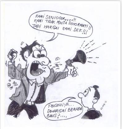 Menalar Absurditas Marx Law : Gugatan sabun Kanda-Dinda!