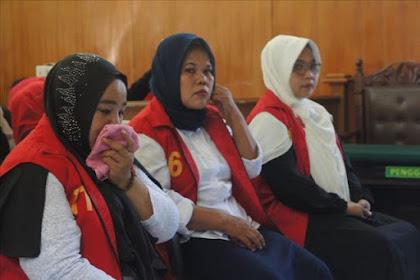 Emak-Emak Pepes Karawang Divonis 6 Bulan Penjara