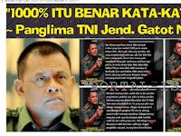 Pernyataannya Jadi Kontroversi, Panglima TNI: 1000% BENAR Itu Suara Saya!