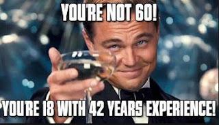 happy 60th birthday meme, FUNNY quote