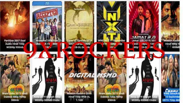 9xrockers 2021 Download Latest Movies in HD Quality