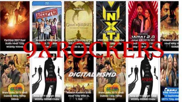 9xrockers 2021 Download Latest Bollywood Movies | Digital Msmd