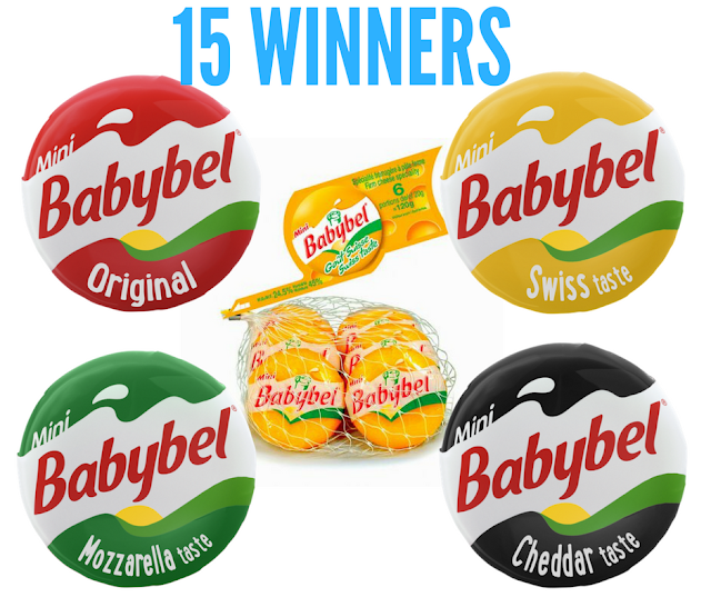 15 Winners Will Get FREE Babybel Cheese For a Year!