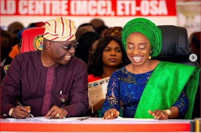 Lagos state governor, Babajide Sanwo-Olu Unveils Mother And Child Hospital to expand access for Lagosians.