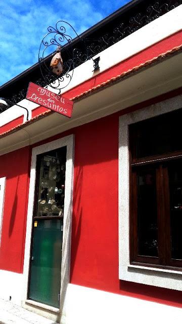 Fachada do Museu dos Presuntos na Foz Velha