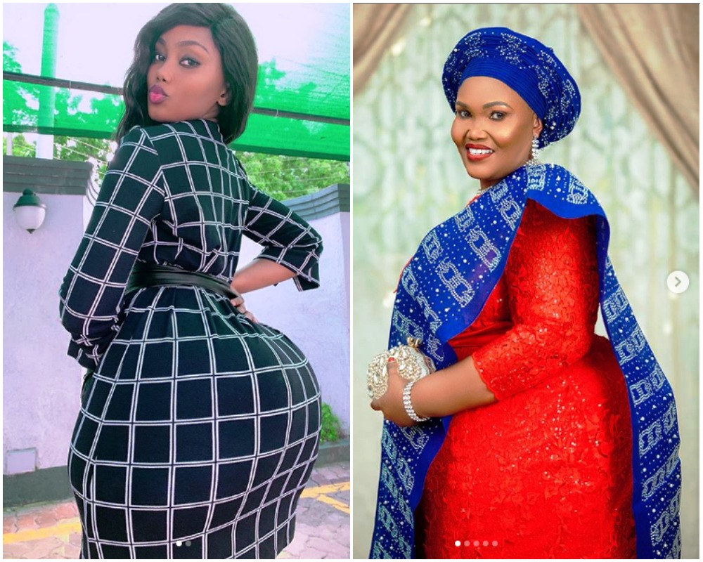 Tanzanian Model, Sanchi Shows Off Her Curvy Mom