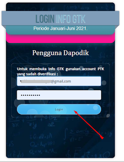 email password login gtk 2021