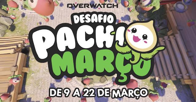 Overwatch Desafio Pachimarço