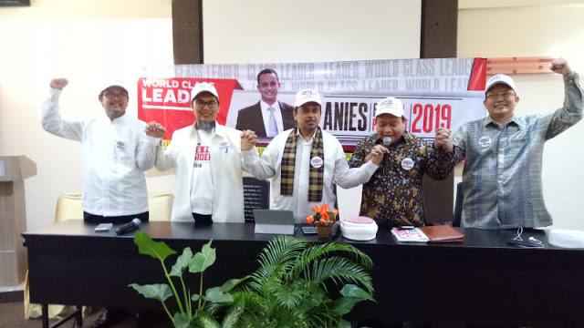 Ustaz Haikal Hassan Dkk Deklarasikan Anies Capres 2019