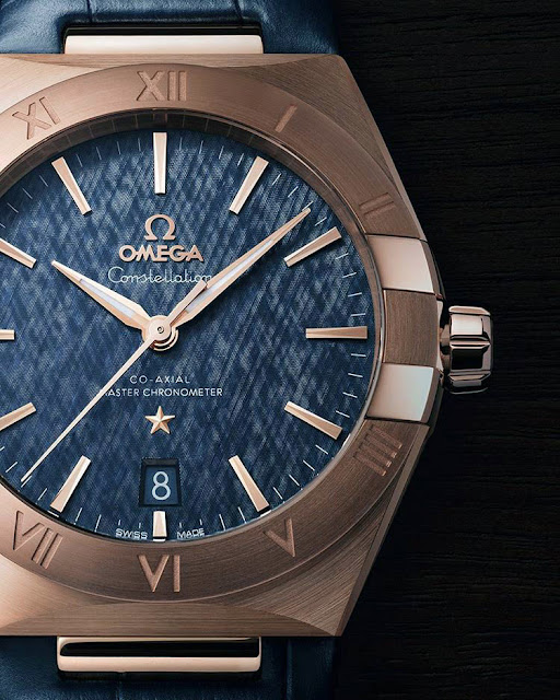 Omega Constellation Master Chronometer 39 ref. 131.53.39.20.03.001