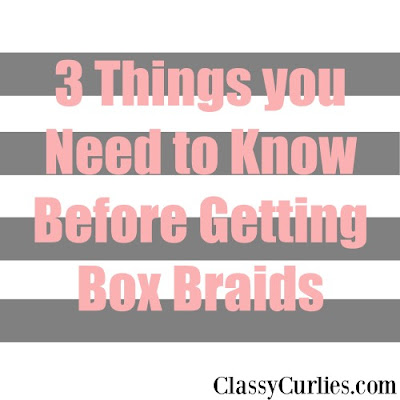 caring for box braids