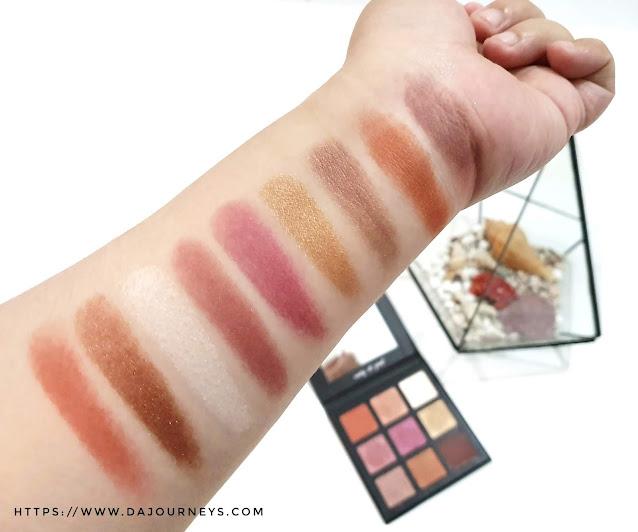 Review Flawed Eyeshadow Palette