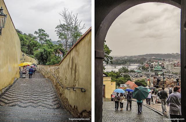 Acesso ao Castelo de Praga