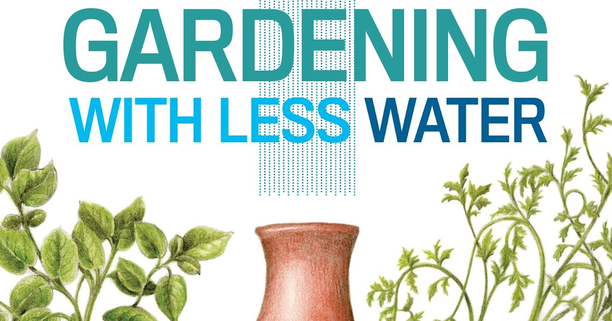 Kevin 39 s corner review gardening with less water by for Gardening 4 less reviews