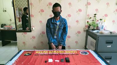 Diduga Miliki Narkoba Jenis Shabu, Warga Pancor Ditangkap Polisi