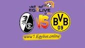 نتيجة مباراة بوروسيا دورتموند وفرايبورج اليوم بتاريخ 03-10-2020 في الدوري الالماني