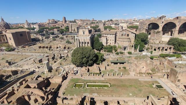 Roma Forum genel görünüm