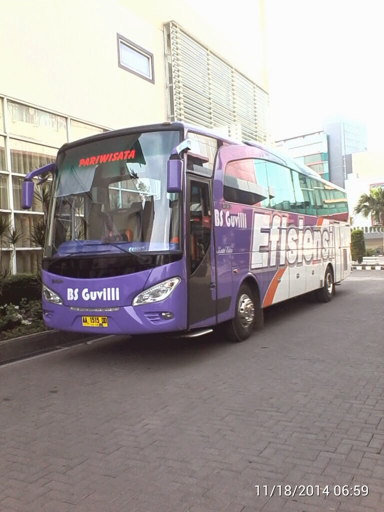 bus 50 seat untuk pariwisata