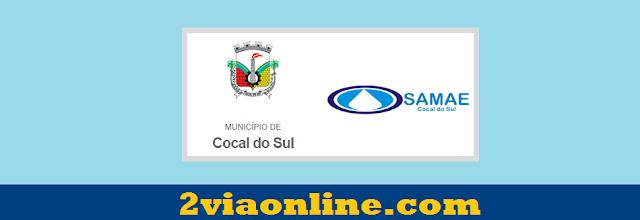 SAMAE Cocal do Sul: confira como consultar fatura e gerar boleto