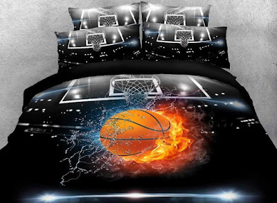 Basketball Print 3D Bedding Sets