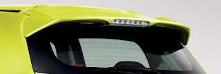 REAR SPOILER (WITH LED HIGH-MOUNT STOP LAMP) MIRAGE 2014