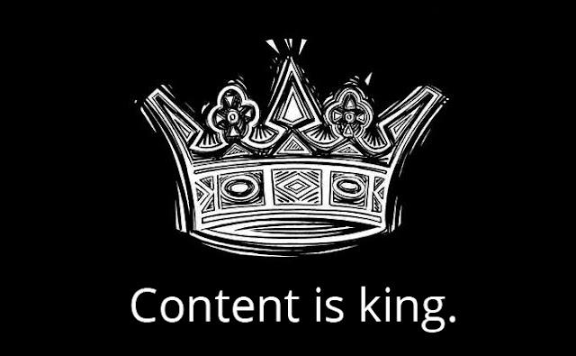 konten adalah raja