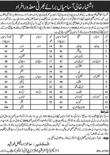 Jobs in Higher Education Department