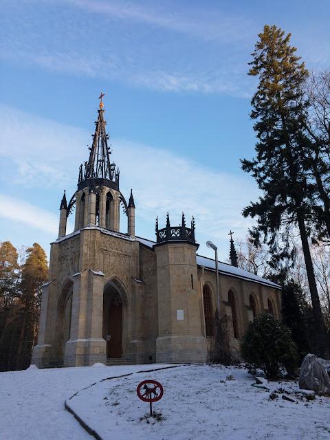 Готическая церковь Петра и Павла фото Игорь Новик Шуваловский парк Парголово