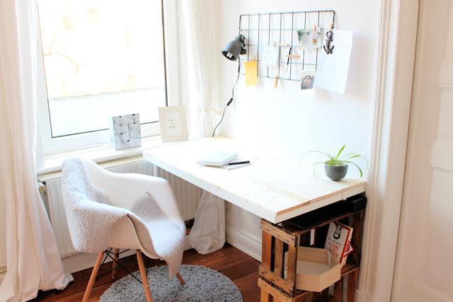 skandinavischer Workspace